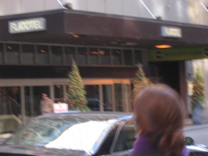 My hotel for my last stay in NYC