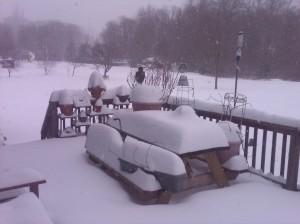 Snow, sweet snow