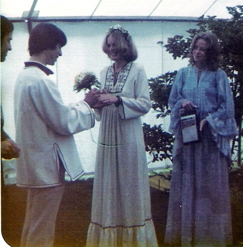 Hippie wedding